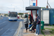 MyCiTi bus stops in Khayelitsha see the light