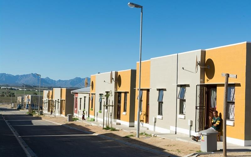 First-time property owners settle in their new homes in Fisantekraal