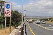 City to fine drivers for disregarding heavy vehicle only-lane along Ou Kaapse Weg