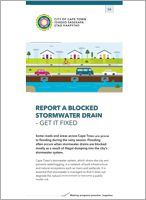 <h4>Report a blocked stormwater drain – get it fixed</h4>