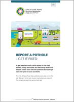 <h4>Report a pothole – get it fixed</h4>