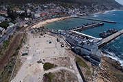 Kalk Bay harbour parking area gets a facelift